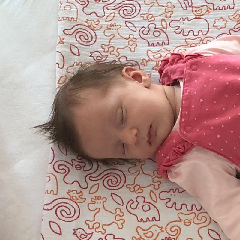 Foto schlafendes Baby